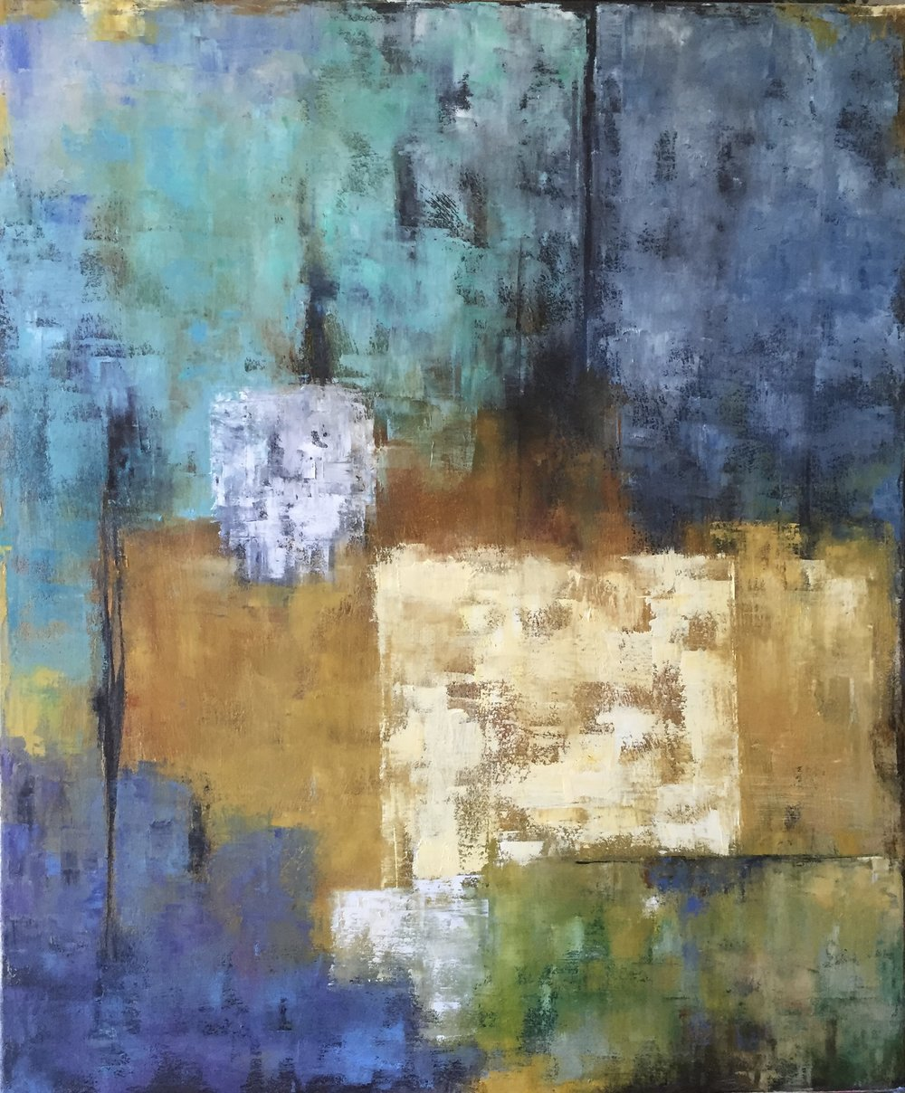 The Encounter, Oil on Canvas, 36x30