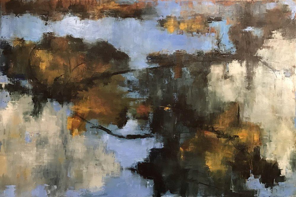 Illusion, Oil on Canvas, 36x24