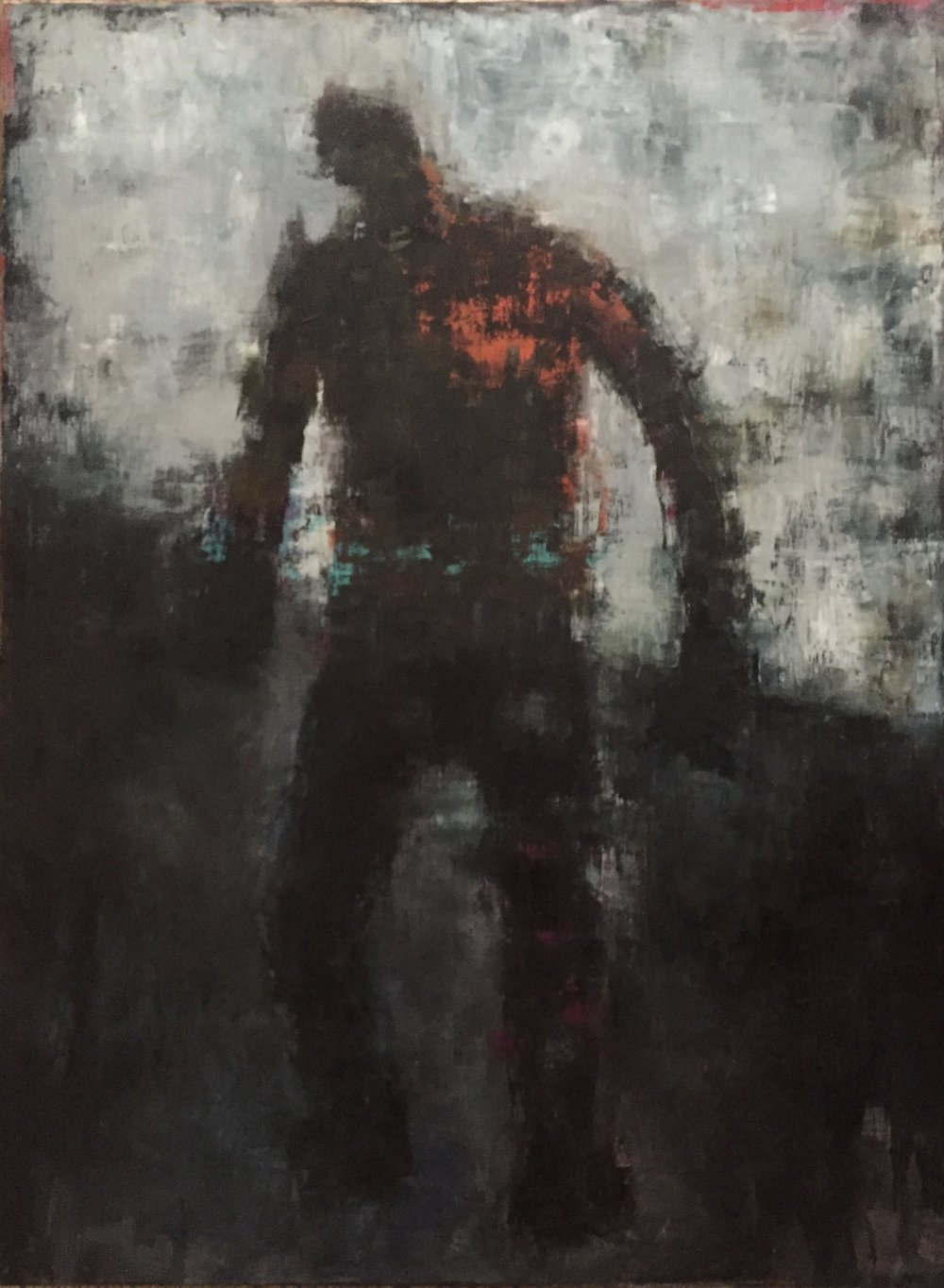 """No Turning Back, Oil on Canvas, 40""""x30"""""""