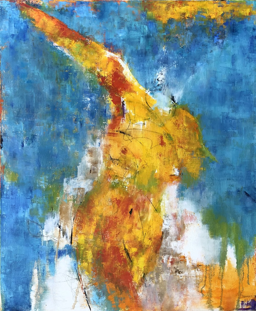"""Footloose and Fancy Free, Oil on Canvas, 30""""x36"""", SOLD"""