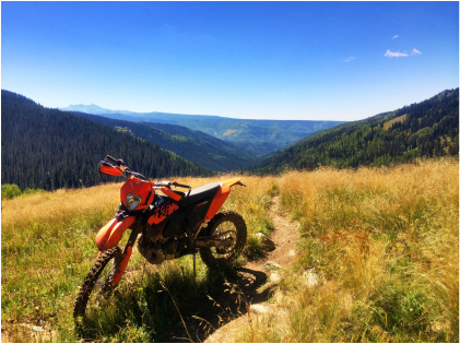 A trip down south was in order to check out the San Juan mountains. The KTM is a good way to cover a lot of ground quickly.