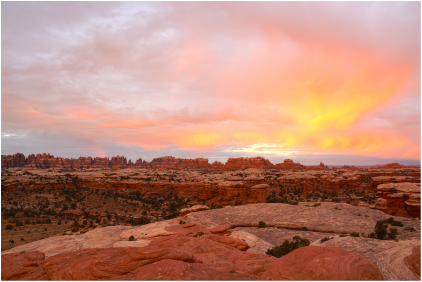 Most of our time was spent in the Needles district of Canyonlands National Park.