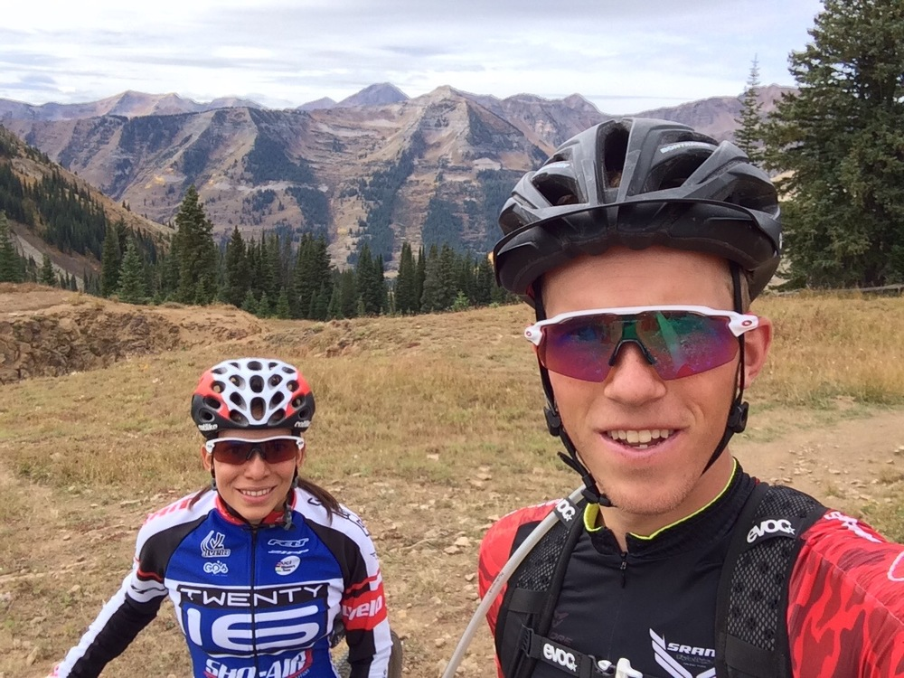Day 9. Mountain Biking in Crested Butte with Sofia! She's a natural!