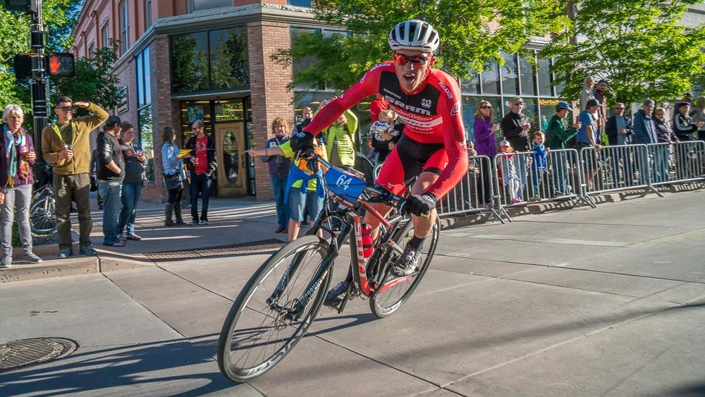 Surviving the chaos of the Fat Tire Crit.