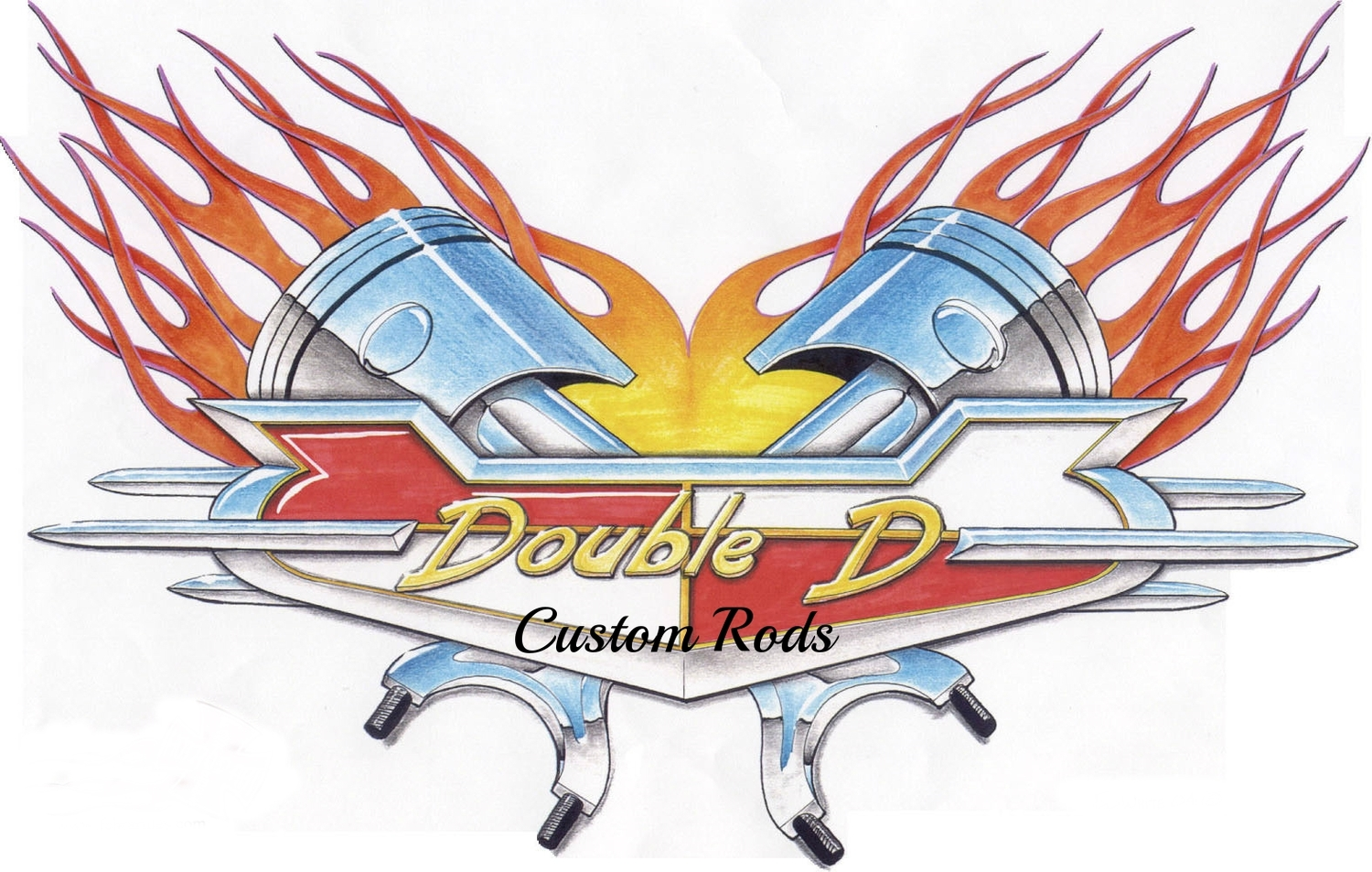 Double D Custom Rods