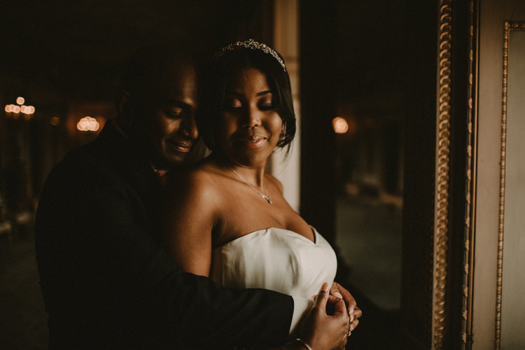 indian and african bride share intimate moment at syon park