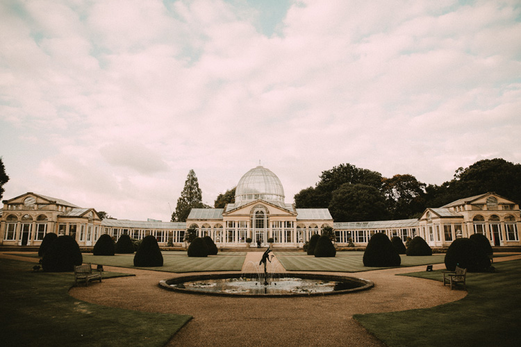 landscape shot of syon park