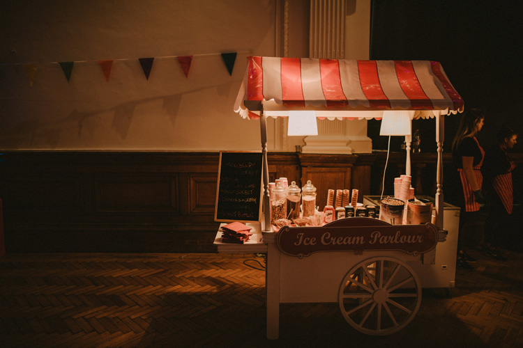 popcorn truck in london hindu wedding reception