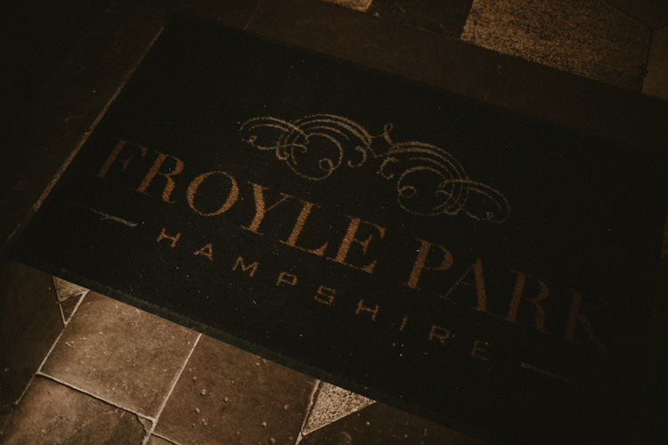 the entrance mat to froyle park