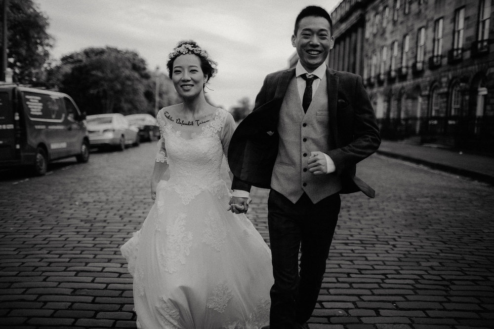 Jenny & Phil - Edinburgh, Scotland