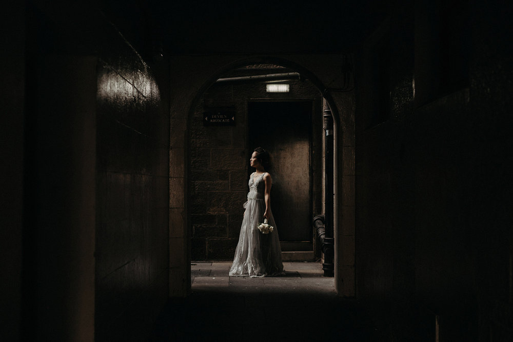 wedding photographer in edinburgh
