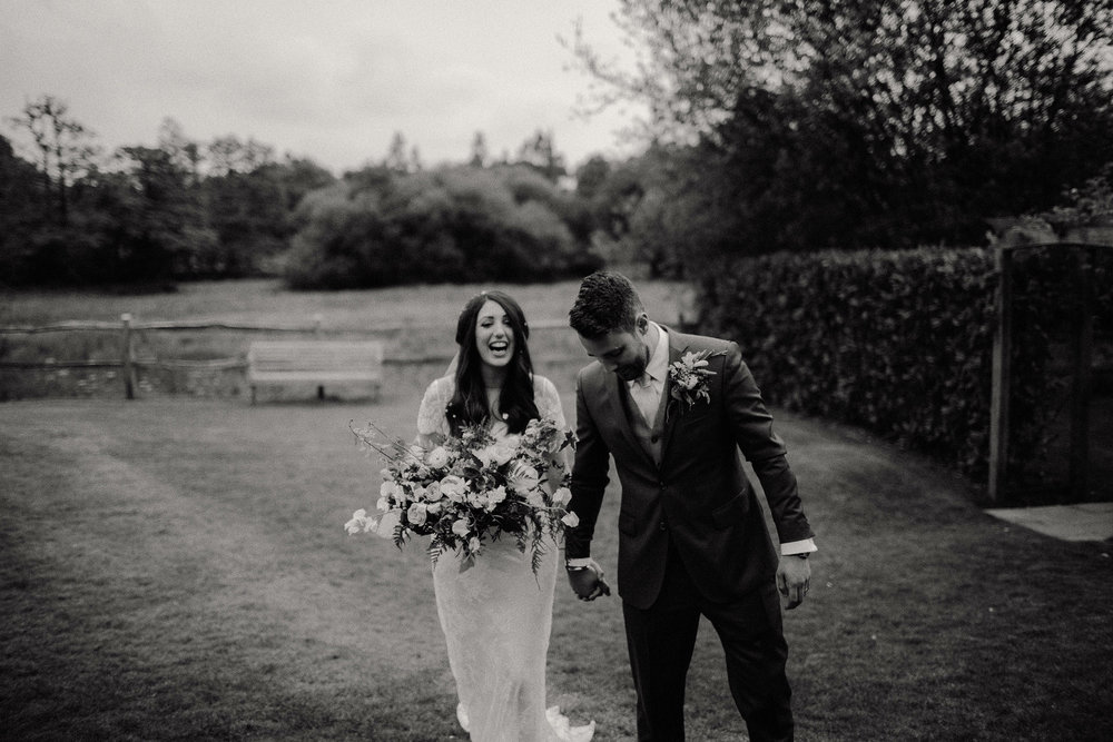creative Millbridge Court wedding photographer