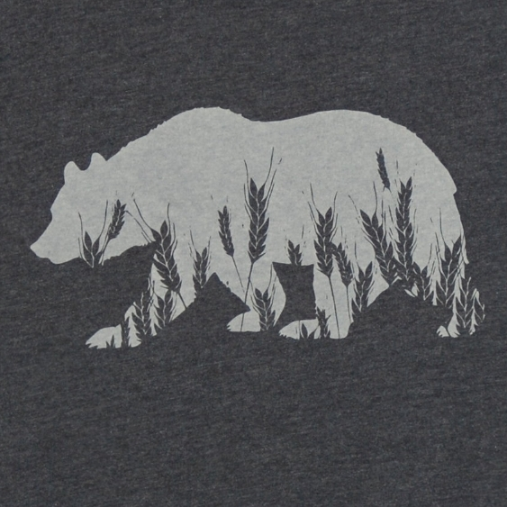 Screen Printing California Bear