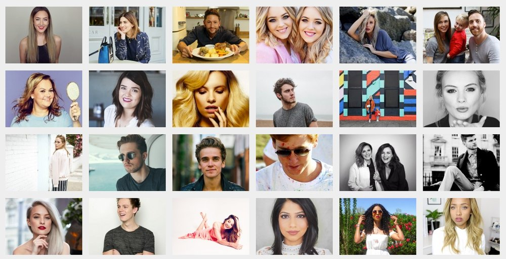 A snapshot of the talent represented by Gleam Futures