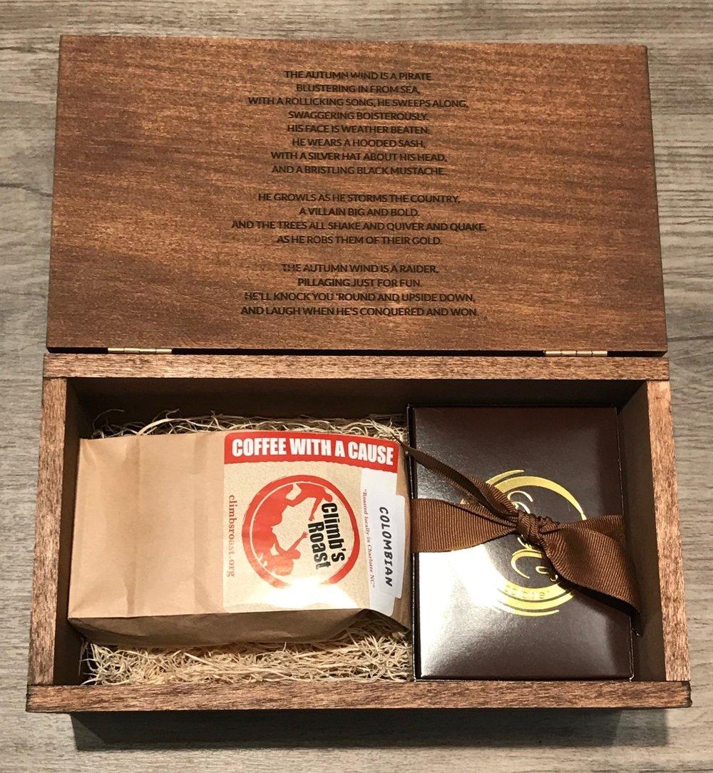 Option 2. Raiders Artisan Coffee & Chocolate Box