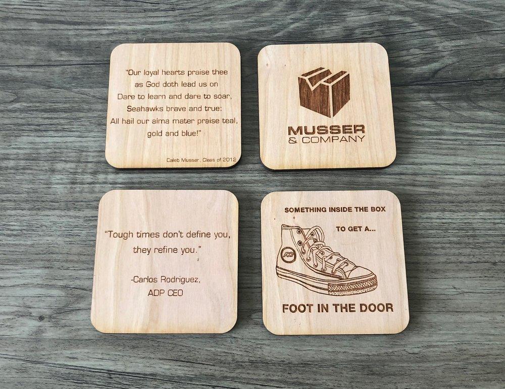 Coaster Examples