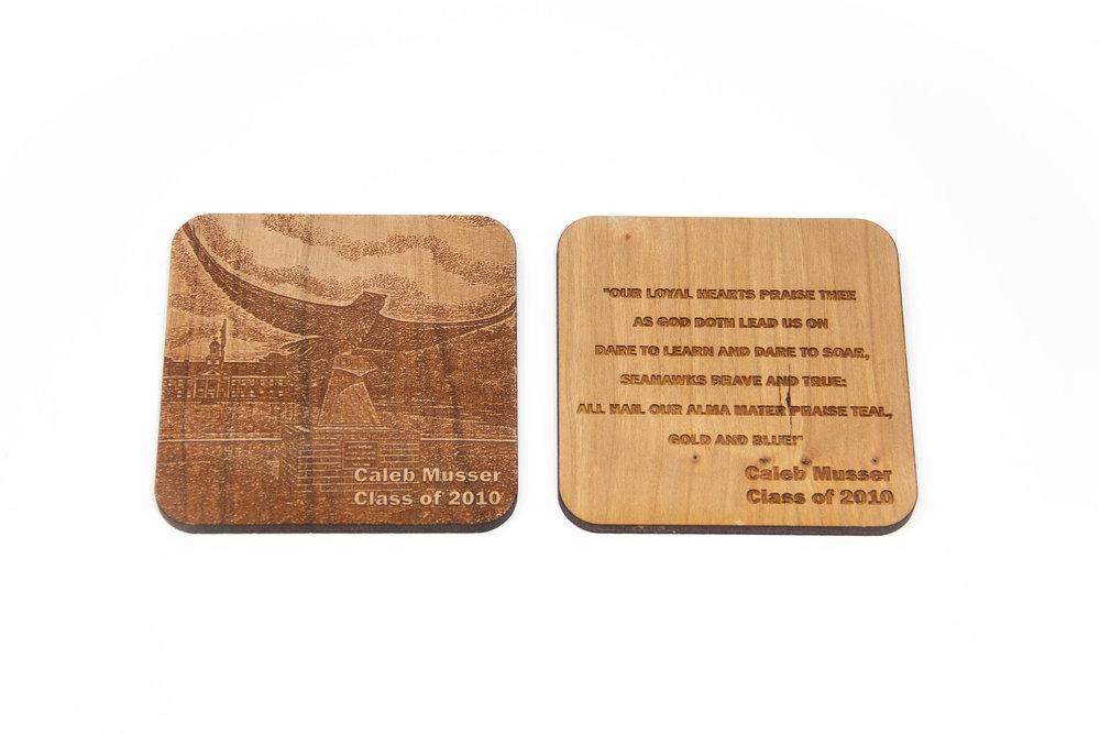 Alma Mater Coaster Examples