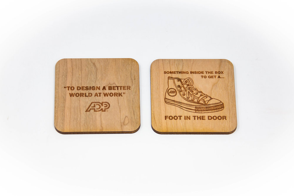 ADP Slogan & Artwork Coasters