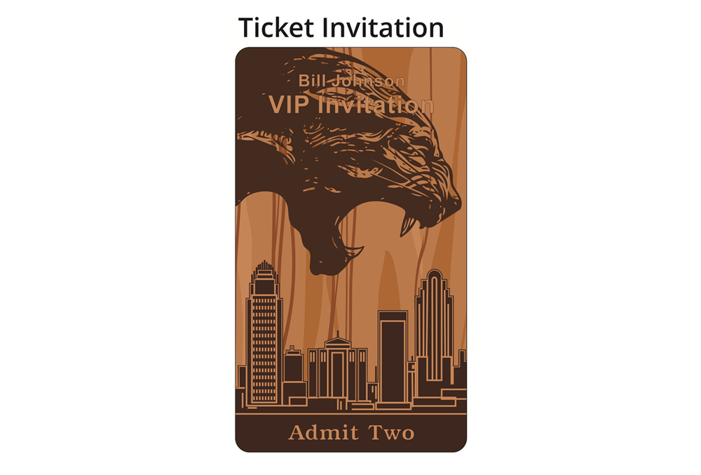 Commemorative Ticket