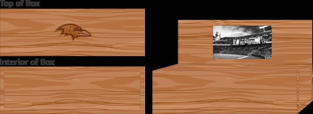 Hardwood Wine Box