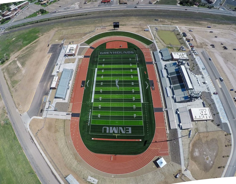 Eastern New Mexico University Multipurpose Stadium Mcclain Yu