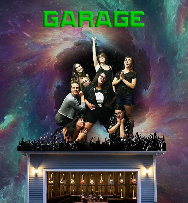 This is Garage. This happens every Wednesday at 8. This is a very good improv show. This is something you should come to. . . . . . . #garage #tnmcomedy #austincomedy #improv #ladies #allfemale #butts