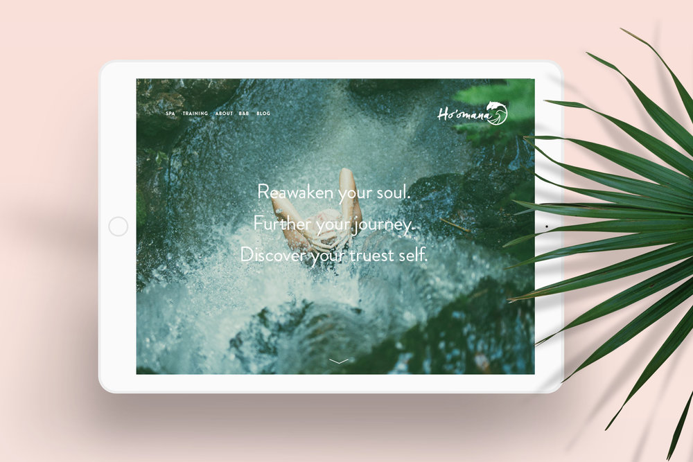 HO'OMANA   Brand Identity, Brand Strategy, Art Direction