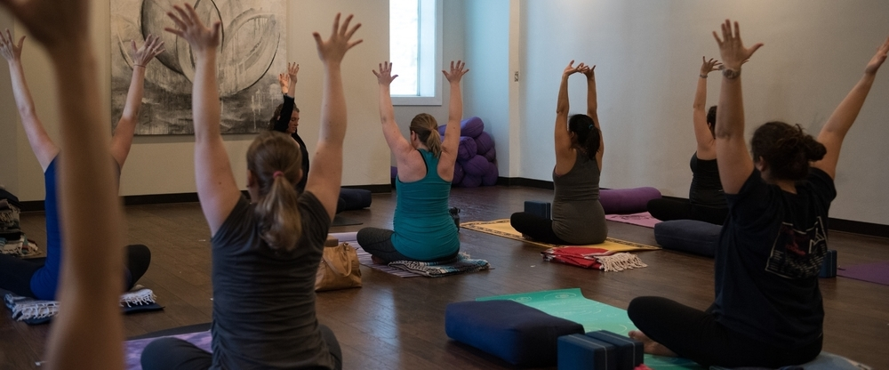 pre-natal yoga teacher training — om births