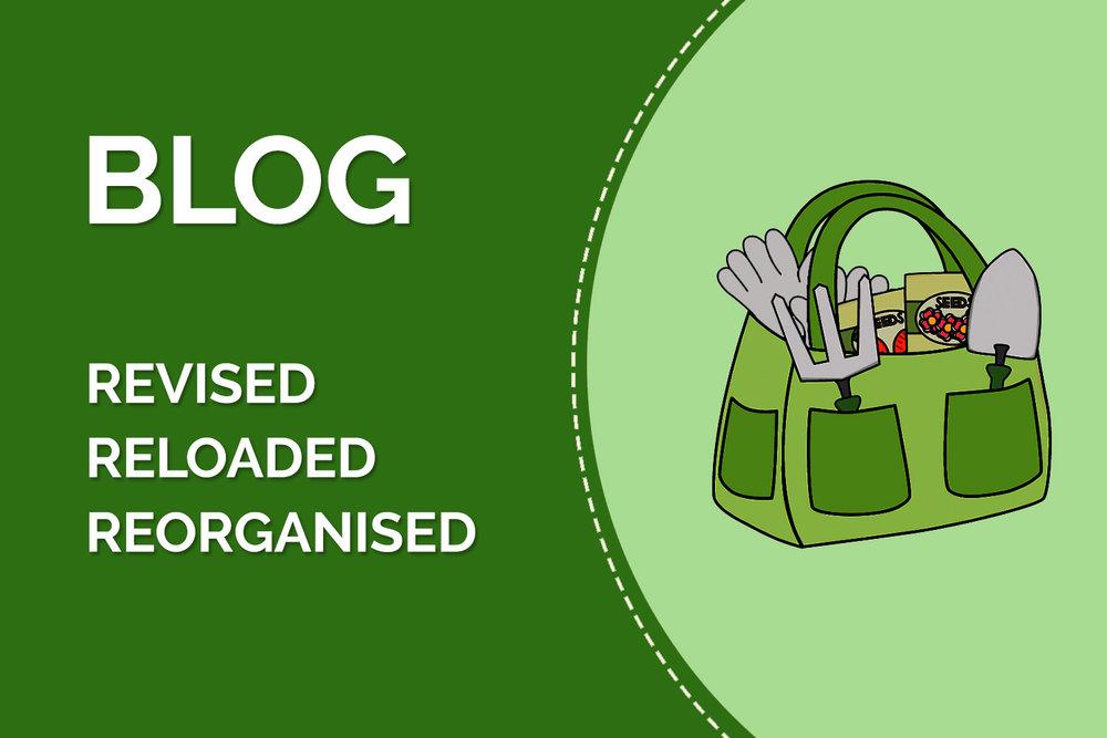 blog revised reloaded reorganised