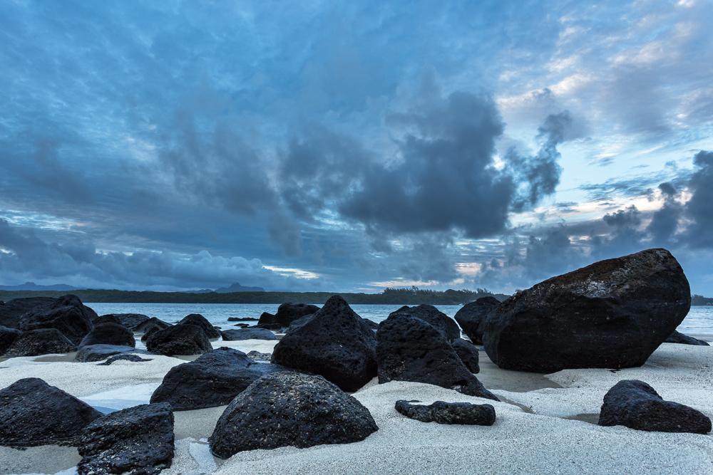 západ slunce Mauritius