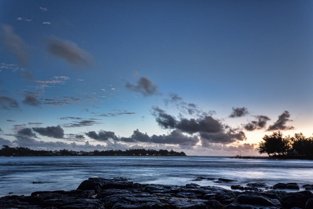 východ slunce Mauritius