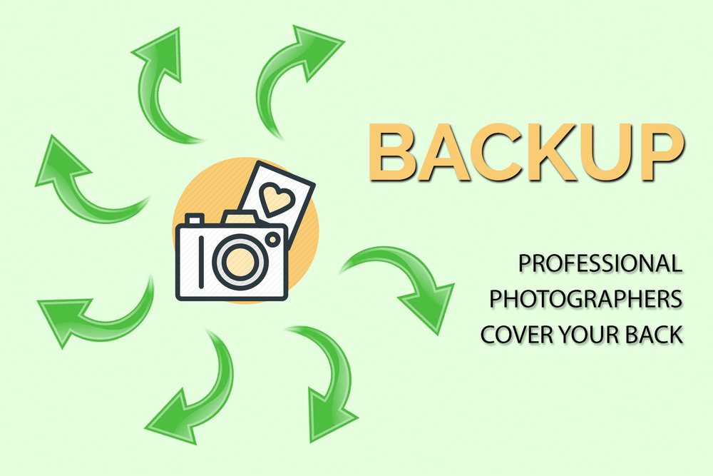 backup professional photographers cover your back