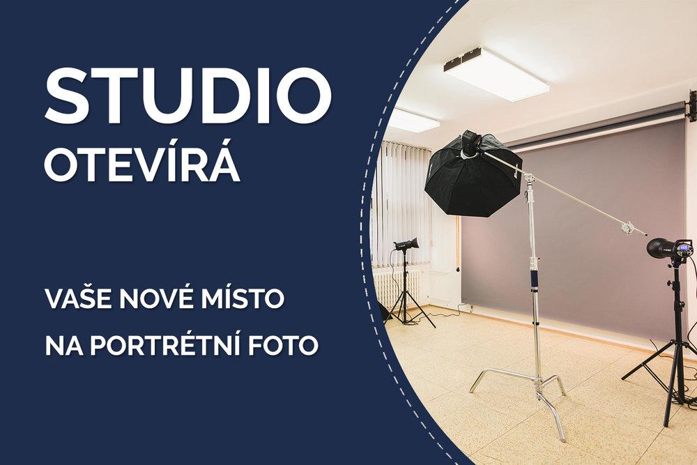 úplně nové fotografické studio v Kopřivnici