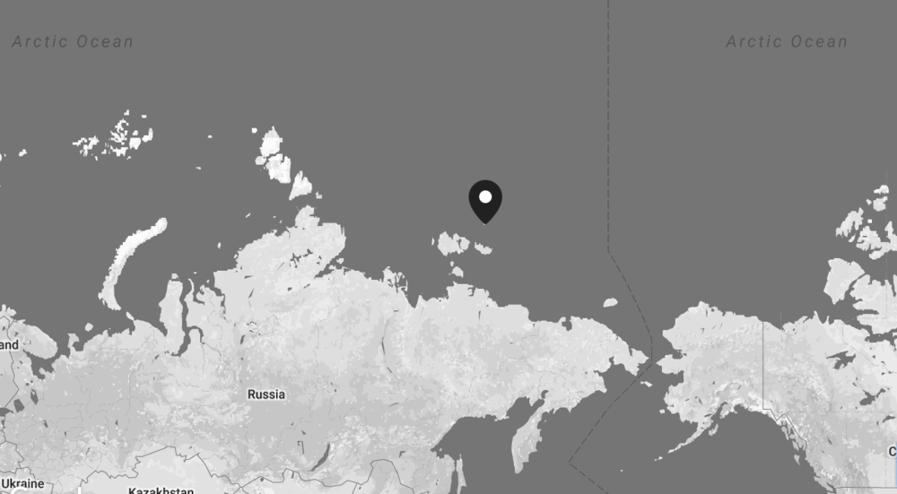 Location of the expedition