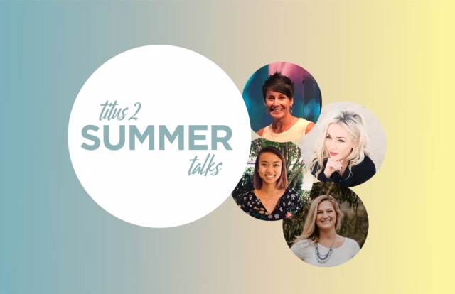 JULY 23RD 2018:  FEAR, DEPRESSION, ANXIETY, EMPTINESS, LONELINESS, HOPELESSNESS, SUICIDE.... all of these issues were addressed in our Titus 2 Talk on July 23rd. Click   HERE   to view the archived video and hear encouraging testimonies from women who have found their HOPE in Jesus!