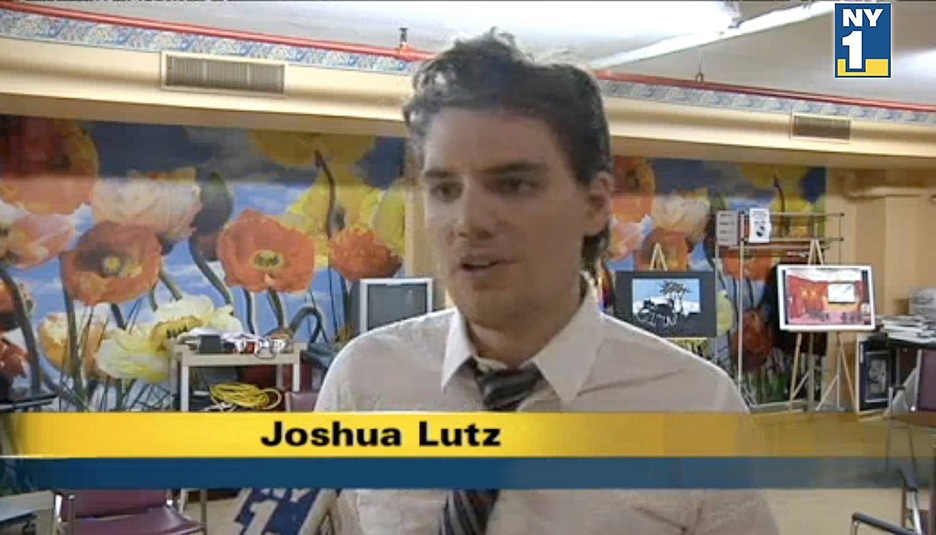 Joshua Lutz, founder of SOVAAD and Little Artists of Sunnyside NY