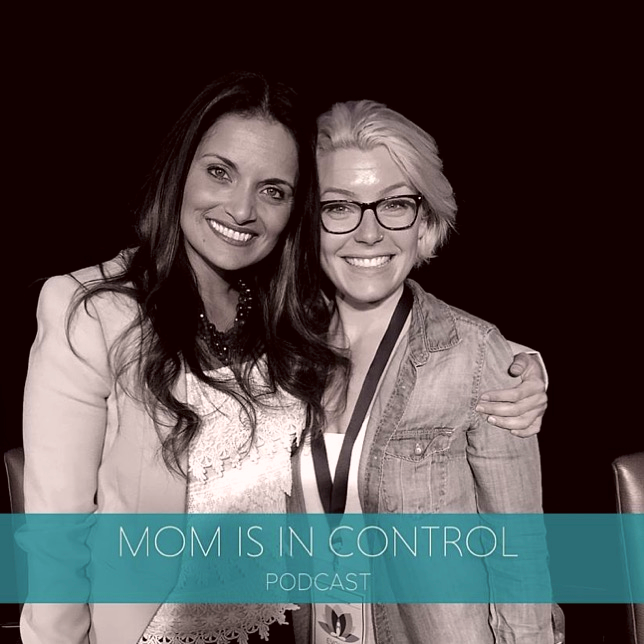 From left to right. Dr. Shefali, author of The Conscious Parent and Heather Chauvin.