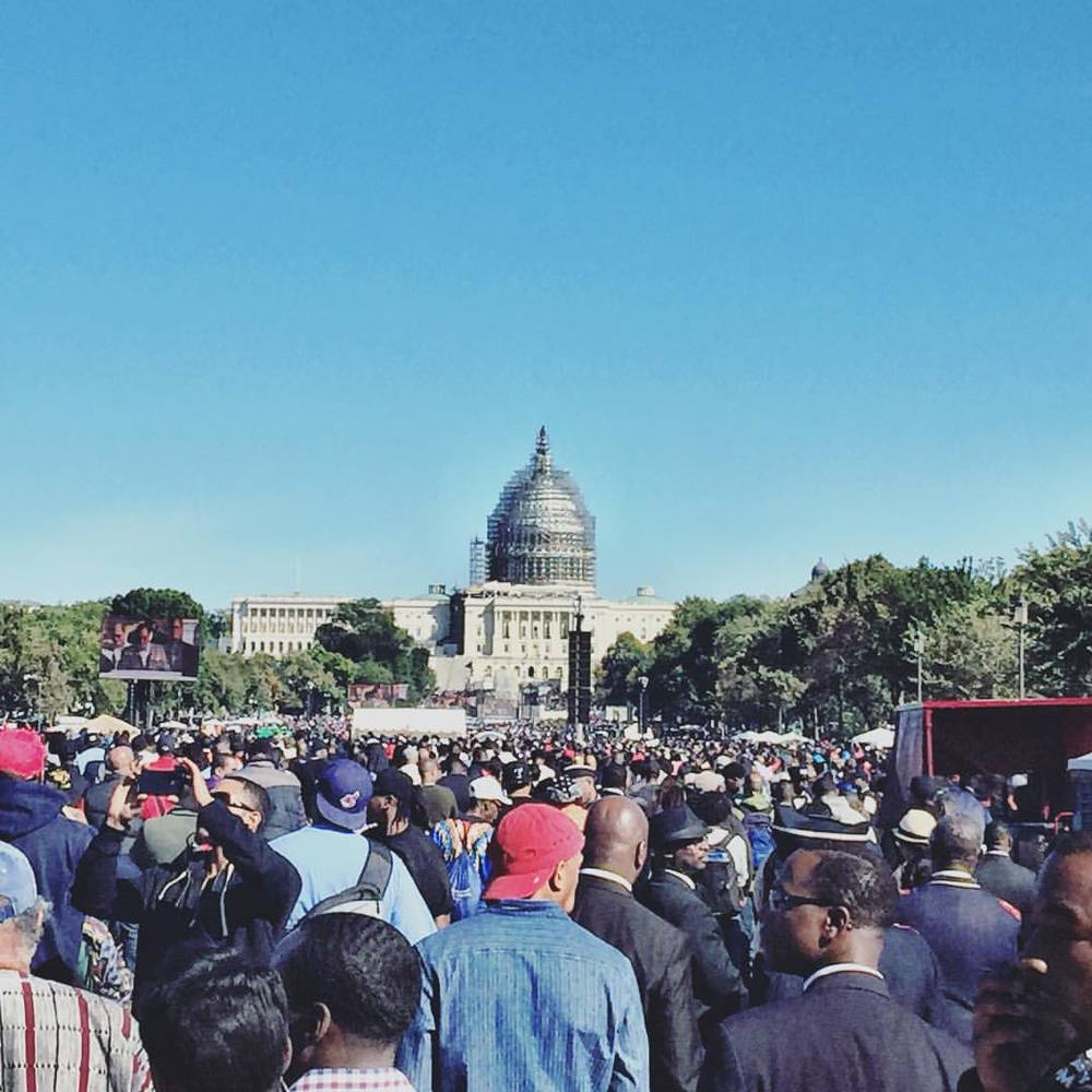 Million Man March #MMM #JusticeOrElse #20YearsLater #Historic (at The Mall)