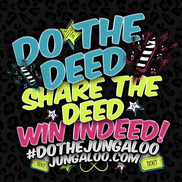 Do What You Do Just #DoTheJungaloo  http://thndr.it/1MJo695
