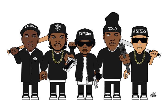"hypebeast :       Lil Thugs x K1X ""LT Attitude"" Artist Series T-Shirt"