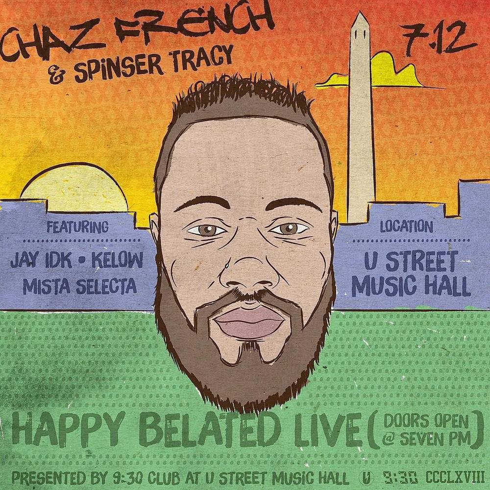 Pull up!!! My bro going set U Street Music Hall off tonight!! @chazfrenchhh #CCCLXVIII (at U Street Music Hall)