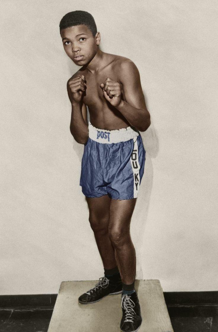 redefinedcool :     Young Cassius Clay [aka Muhammad Ali]