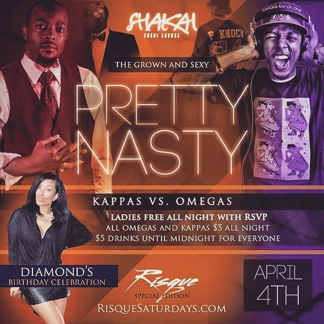 This weekend I'm in the O … . #LIT 🔥🔥🔥 Celebrating  the homie @dymeelove bday!! Tickets and info RisqueSaturdays.com  #PrettyNasty #TurnDatShitLOUD #WaaaayyyyyWaaayyyyyyUP @shakailounge