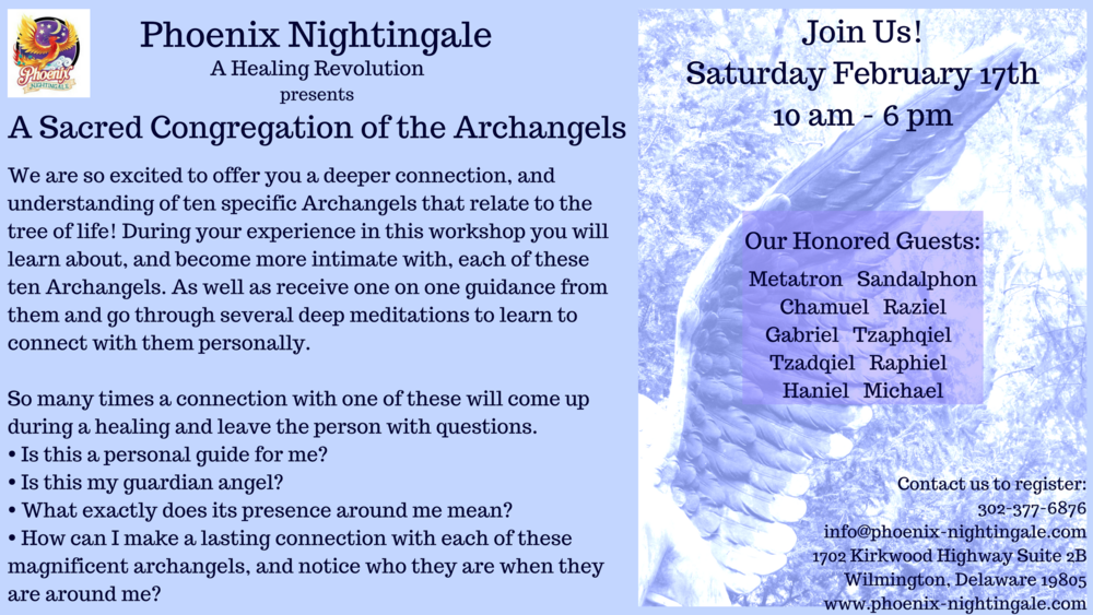 A Sacred Congregation of the Archangels — Phoenix-Nightingale