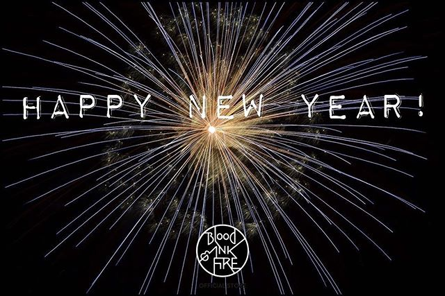 Happy New Year! Wishing all our fans, friends, and readers a healthy, happy and prosperous 2017! 🎉🎉🎉 Thank you all for sticking with us and supporting Blood, Ink & Fire throughout 2016. We are so thankful to have such an amazing group of readers! #nye #happynewyear #newyearseve #2017