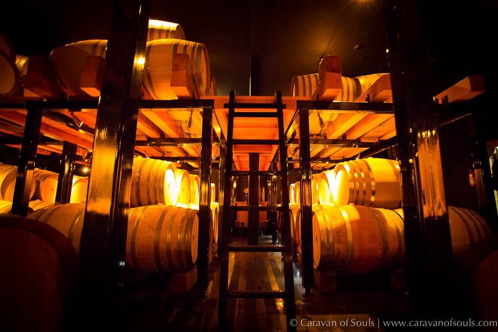 Barrel Room at white Rose