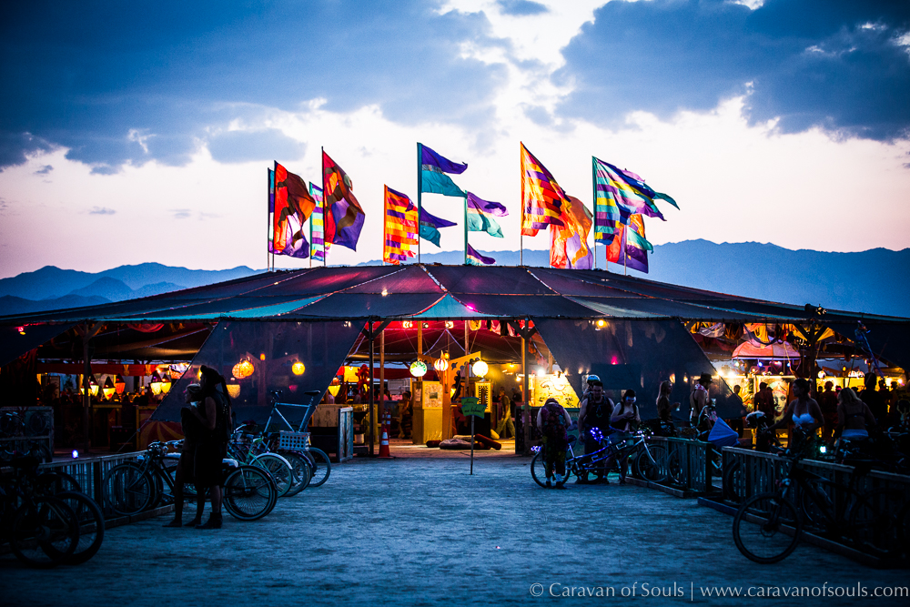 Center Camp at Black Rock City 2014
