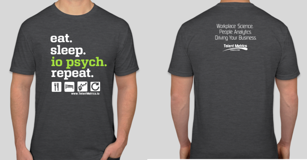 Our 2018 I-O Psych Shirt Design
