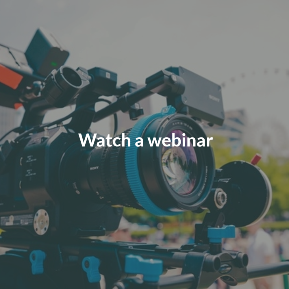 Copy of Watch a webinar