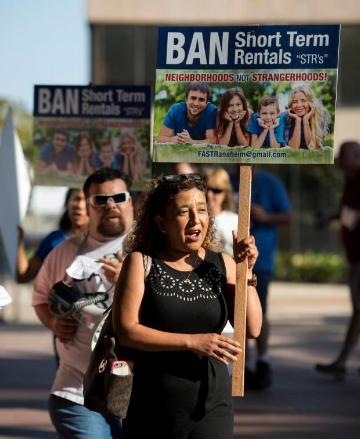 Ban short-term rentals
